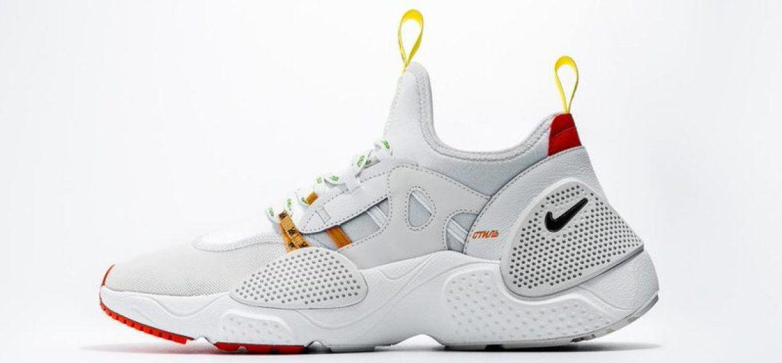 6f1988edaa0b Heron Preston Opts for Huarache E.D.G.E. for His First Nike ...