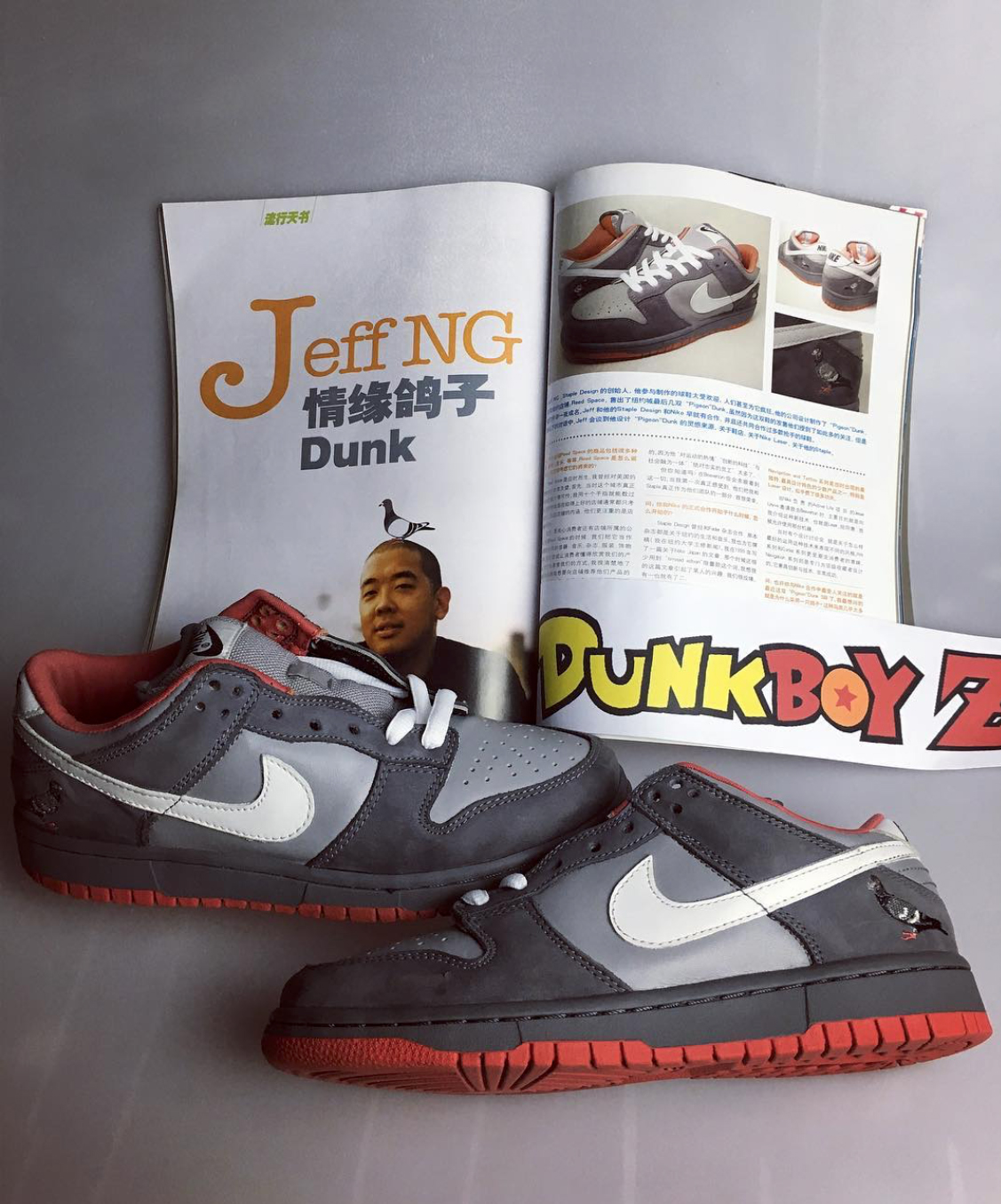 "Nike SB Dunk Low Pro ""Pigeon"" // Throwback Thursday"
