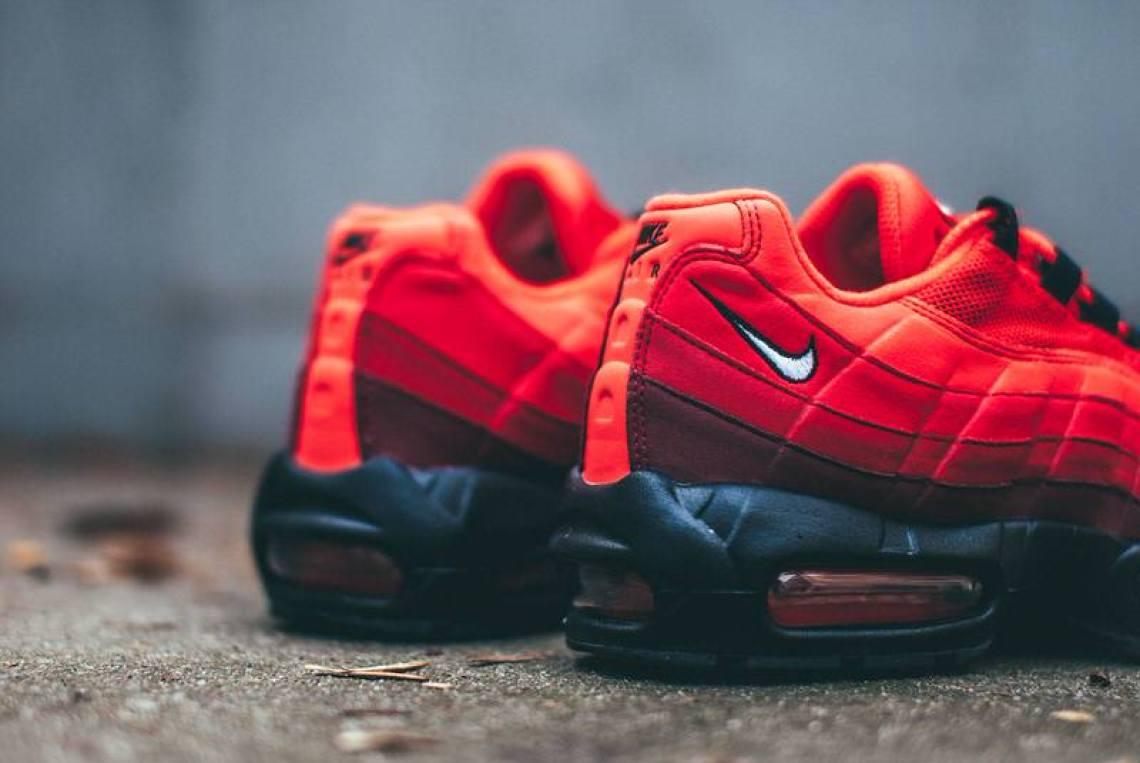 "Nike Air Max 95 ""Habanero Red"""