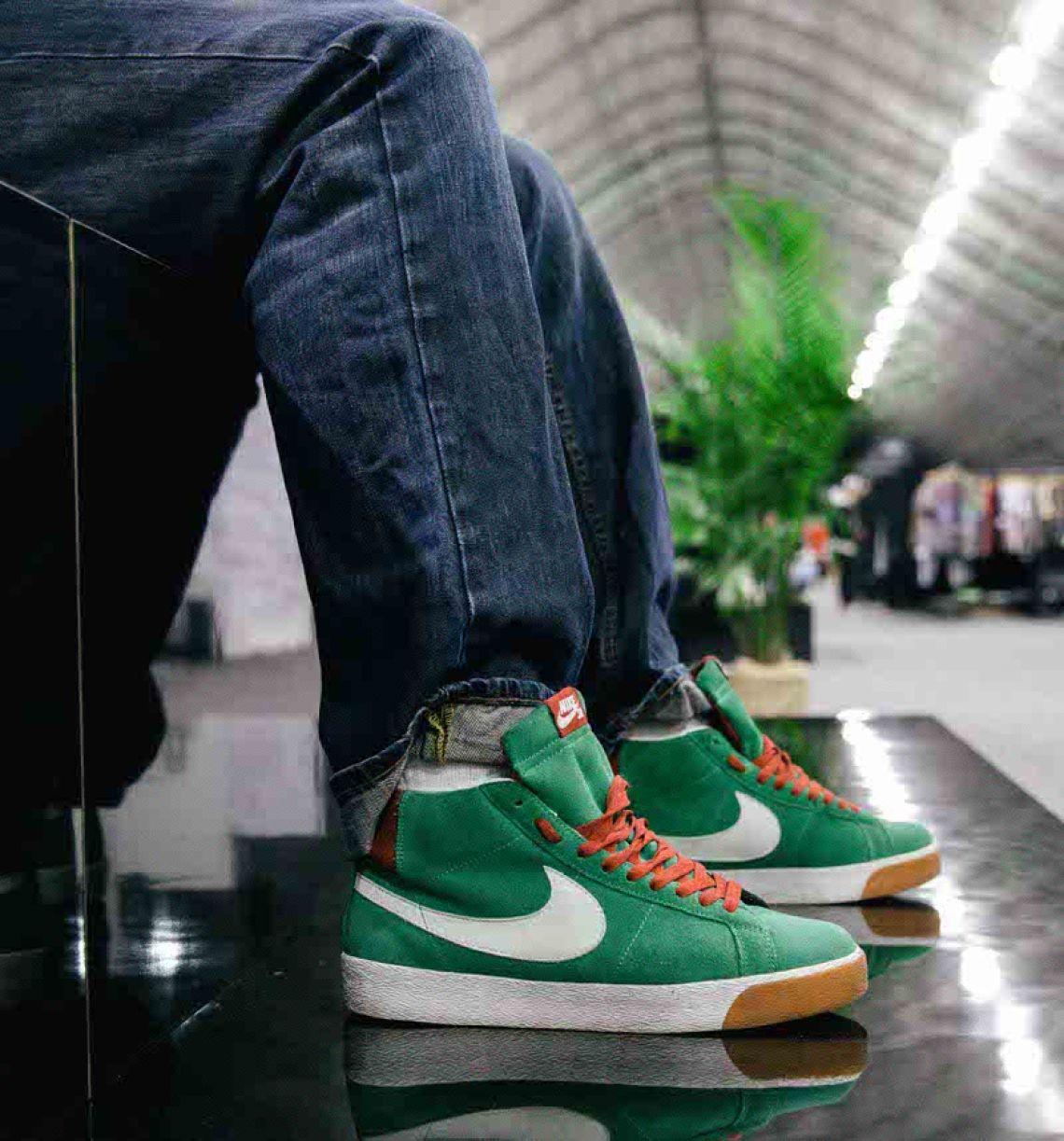 "Nike SB Blazer ""Lebanese."""