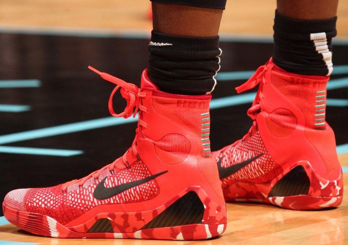 "cheap for discount d4f2a 7755e Nike Kobe 9 Elite High ""Christmas"""