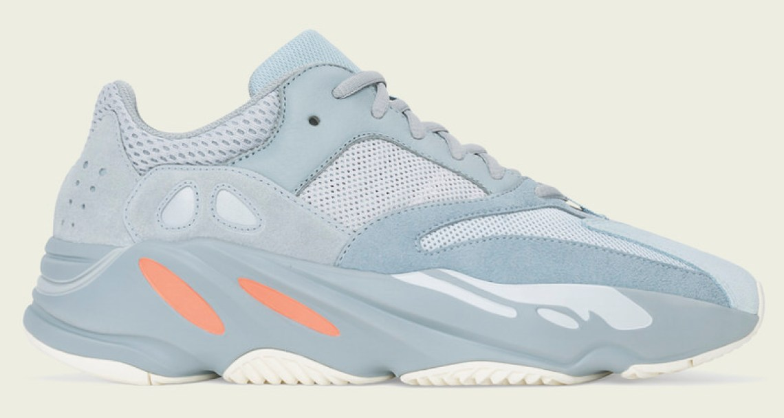 "92d8f985fe1ad3 Tangerine hits on the midsole and a taupe coating on the outer finish off  the V1 Yeezy 700 that in many ways mirrors the ""Mauve"" in regards to color  ..."