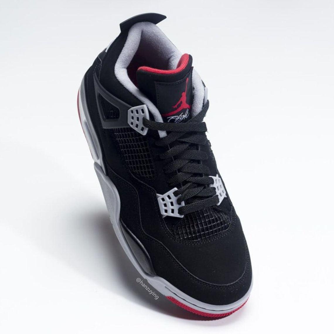 reputable site 8816f 1d53c ... Air Jordan 4 Black Red