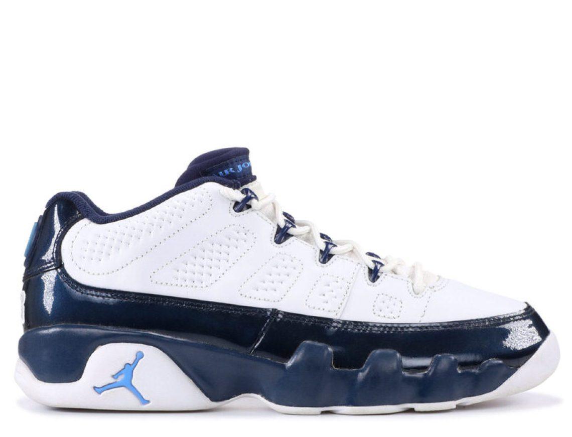 """6ab38c69fa43 Air Jordan 9 Low """"Pearl"""" 2002 (via Flight Club). Following Jordan s second  retirement from the NBA in February 1999 ..."""