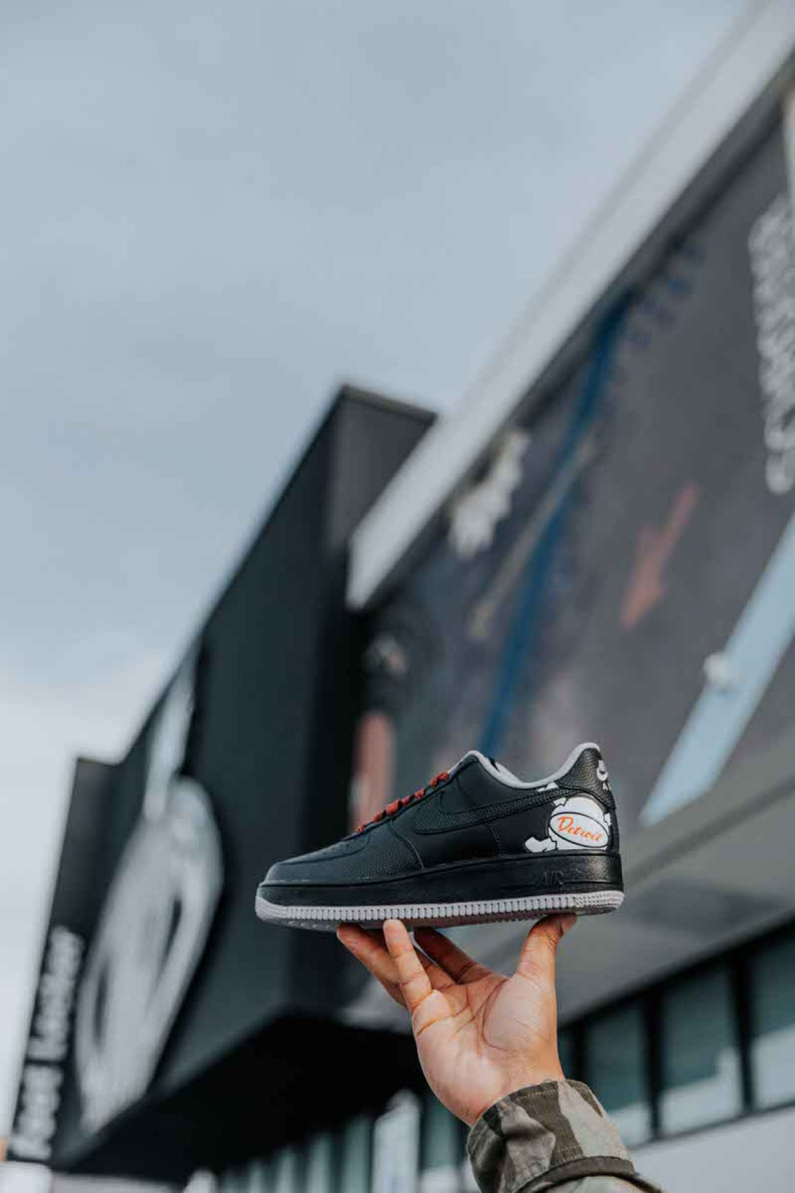 the latest 8cc77 845a4 Released in limited numbers at the Foot Locker Detroit Power Store, this Air  Force 1 is a shoe you had to be there to secure.