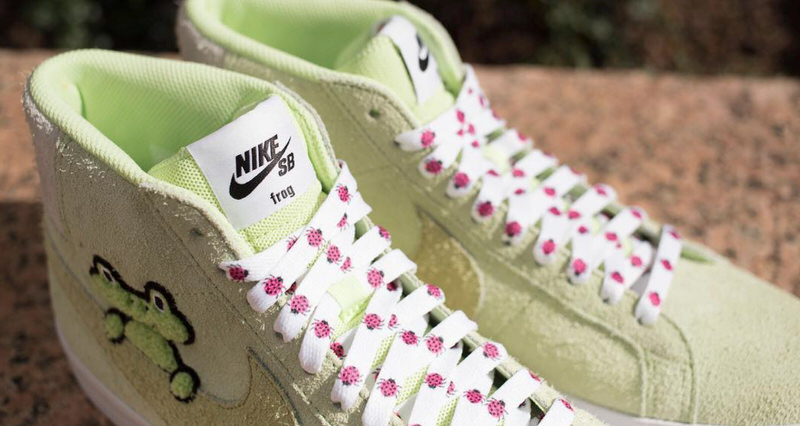b0a9d66c5a2a Frog Skateboards x Nike SB Blazer Rolls in this Weekend