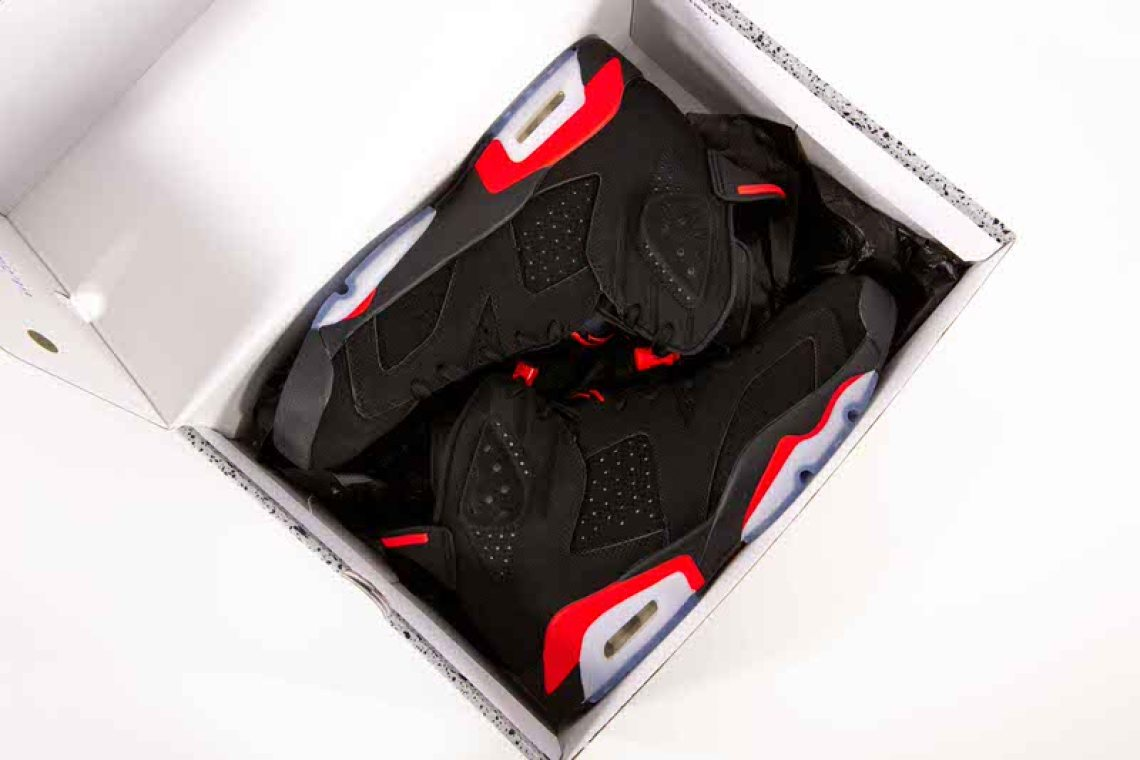 0186c2075c7 Check out images of the 2019 Air Jordan 6 Black/Infrared by Rob Mata from  our friends at Kicking It ATX below.