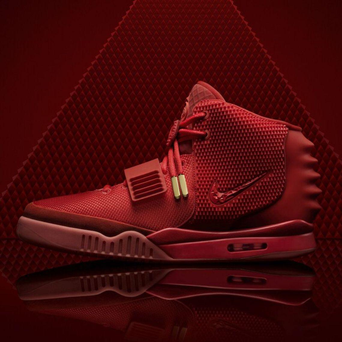 "reputable site e66e6 ba024 Original Nike Air Yeezy 2 ""Red October"" Nike Store imagery (via Sneaker  News)"