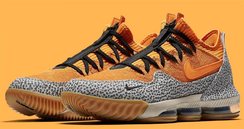"Nike LeBron 16 Low ""Safari"" Sees atmos Inspiration"