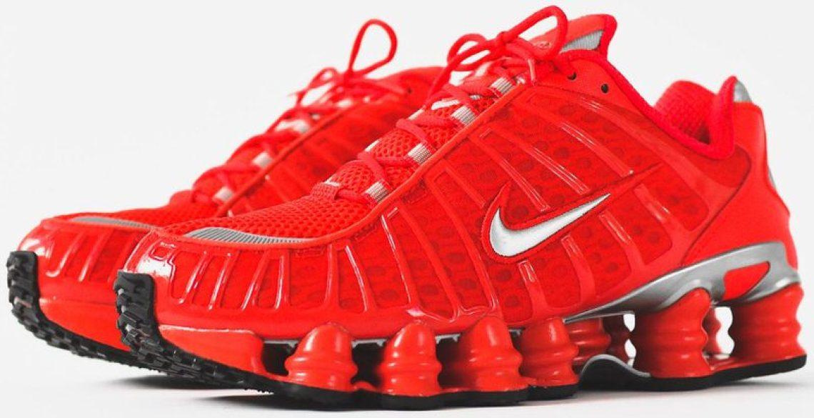 "Nike Shox TL ""Speed Red"""
