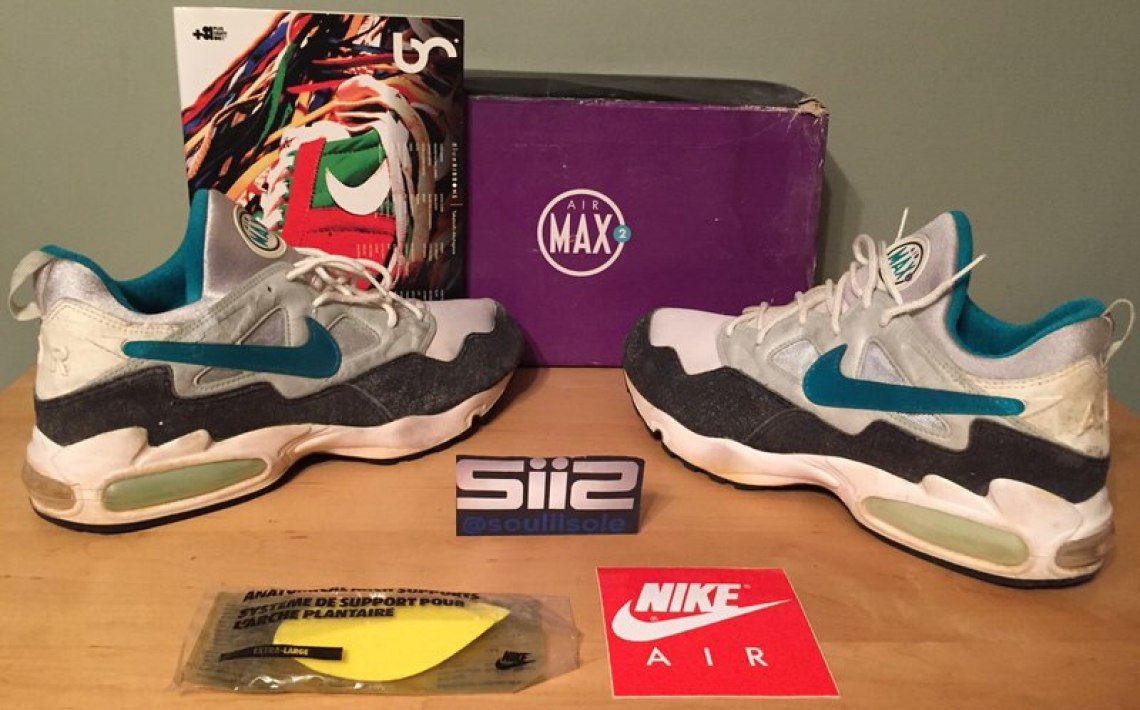 8fc2e10d6c Nike Air Max2 // Throwback Thursday | Nice Kicks