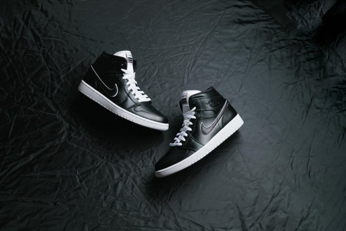 """size 40 4681c 6a5b9 ... Air Jordan 1 Mid """"Maybe I Destroyed Game"""" ..."""