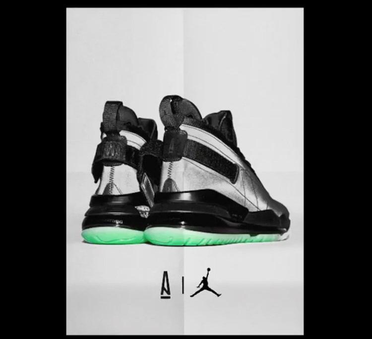 "sports shoes 352e8 a2225 ... A Ma Maniere x Jordan Proto Max 720 ""Atlanta Nights"" ..."