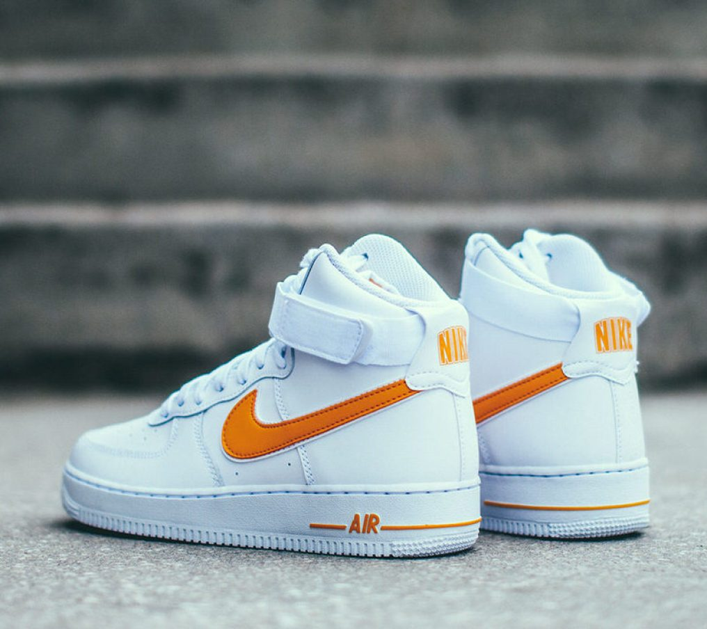 "Nike Air Force 1 High ""University Gold"""