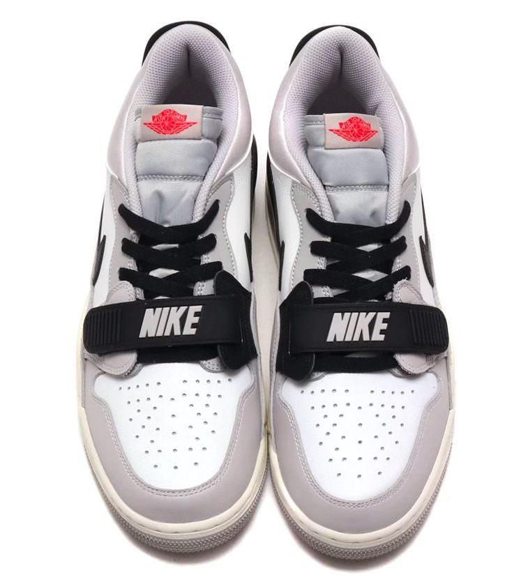 Jordan Legacy 312 Low White/Fire Red