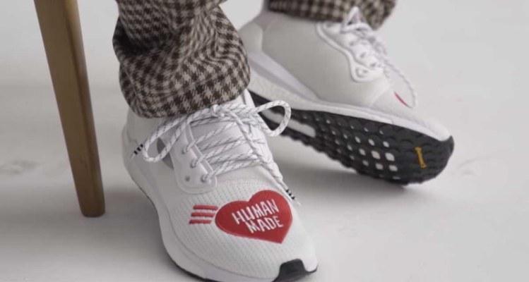 5ae0d0242b17 HUMAN MADE x adidas Solar Glide HU
