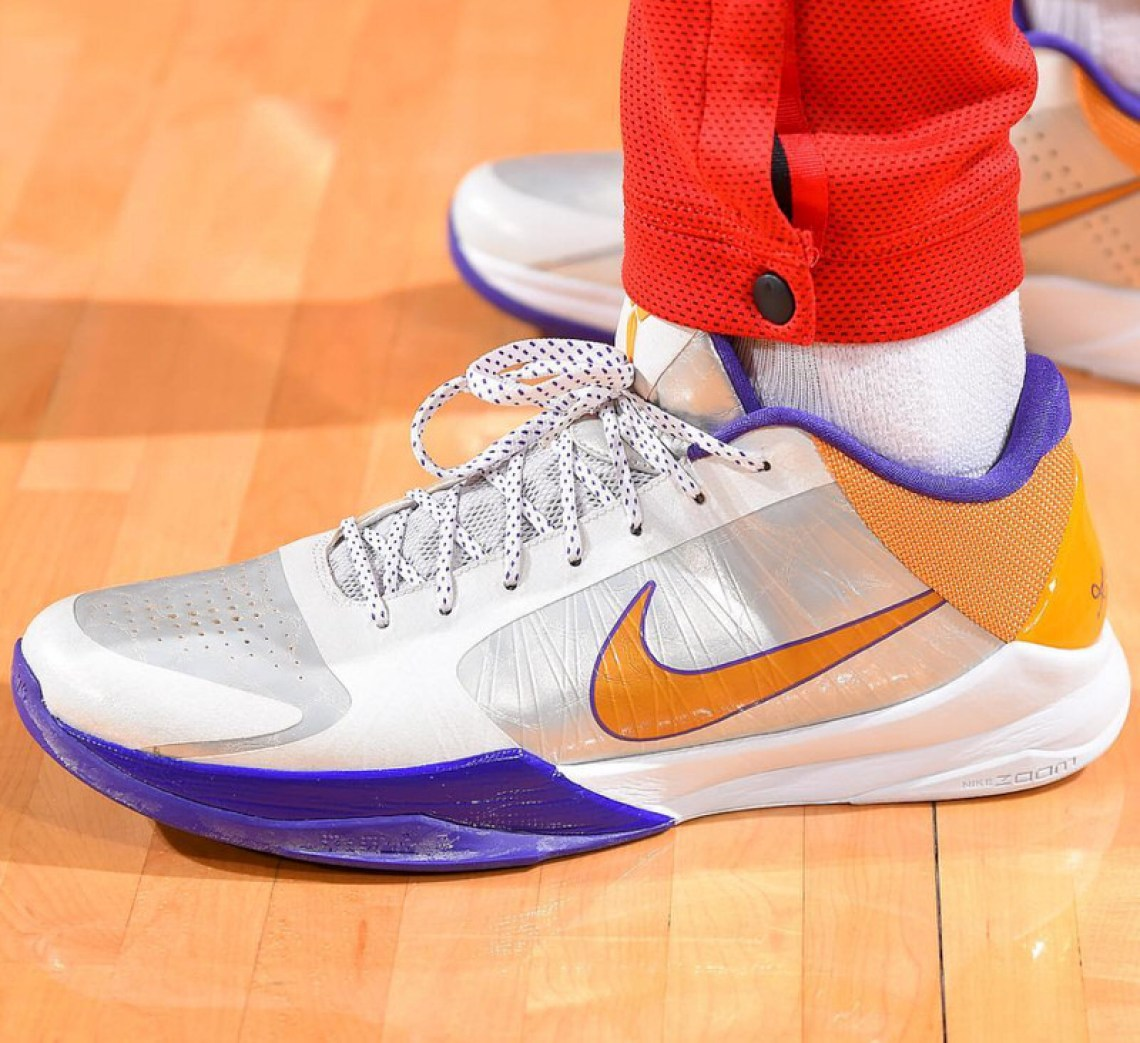 9646bb6cb ... PJ Tucker in the Nike Kobe V (photo by Bill Baptist Getty Images via NBA  Kicks) ...