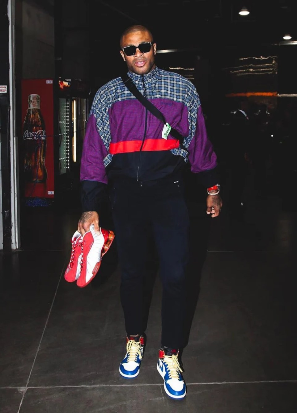 a076b40a72f9 PJ Tucker in the Union x Air Jordan 1 (photo by Jasear Thompson NBAE via  Getty Images) ...
