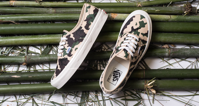 3317dbd9cfe44 Vans Authentic Returns in OG Camo Edition | Nice Kicks