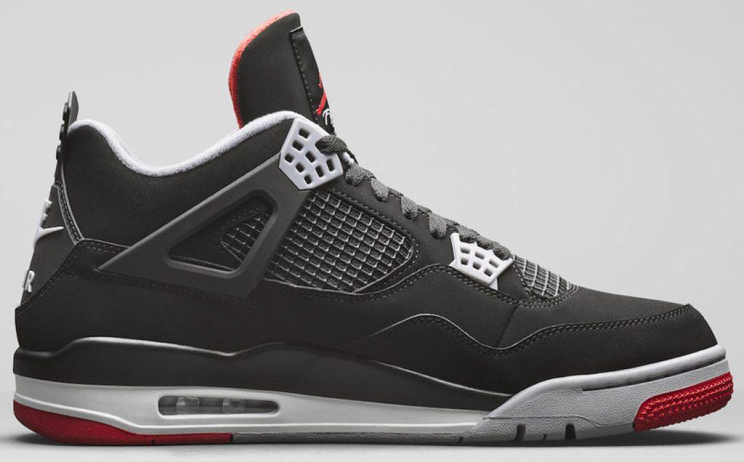 reputable site 4bba3 baf12 ... Air Jordan 4 Black Red