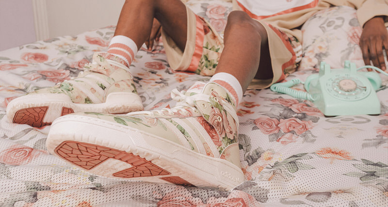 detailed look 0c38d 6625a Eric Emanuel Partners with adidas for Floral-Focused Capsule Collection