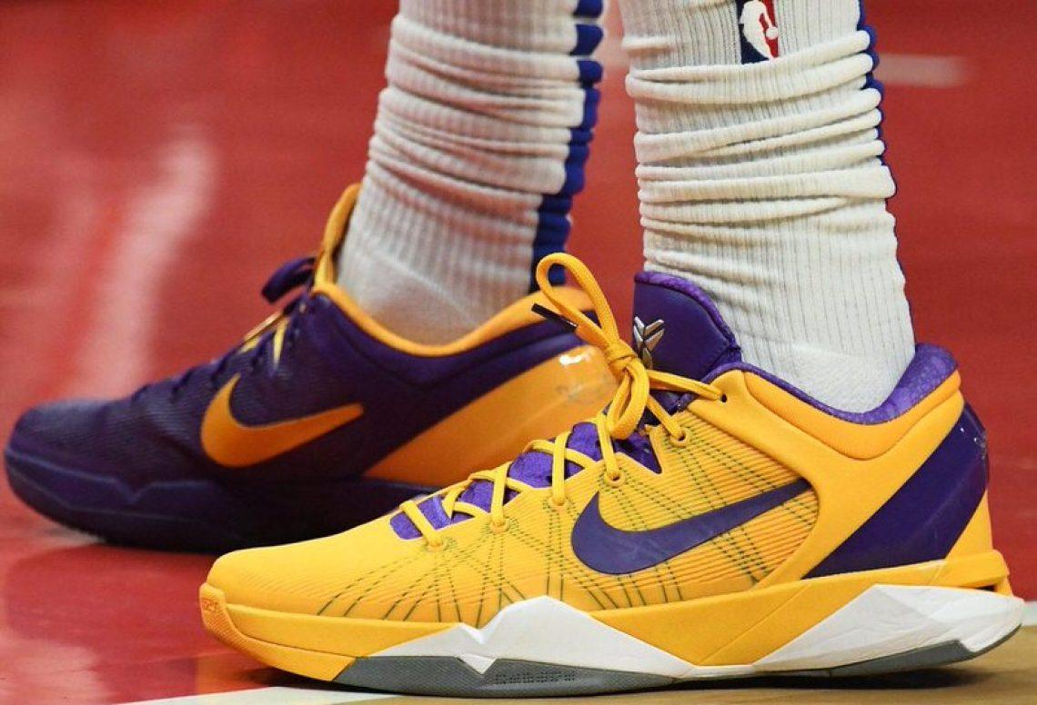 "huge selection of 753aa 01314 Montrezl Harrell in the Nike Kobe 7 ""Yin Yang"" (via B R Kicks)"