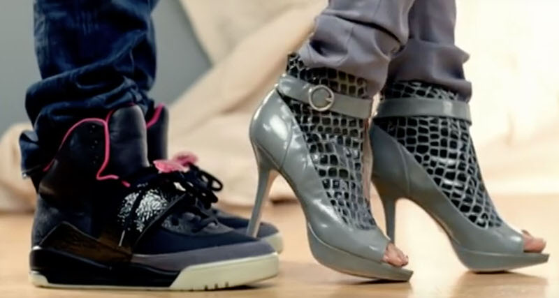 308b231993b5 Kanye West Debuted the Black Pink Nike Air Yeezy 1s 10 Years Ago Today