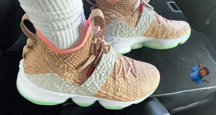 e8c25bb8aa5 Kanye s OG Nike Air Yeezys Inspire Unreleased Nike LeBron 15 PE