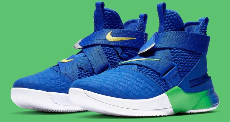 "Nike LeBron Soldier 12 Flyease ""Sprite"" Takes Inspiration from James' Hilarious Alter Ego"