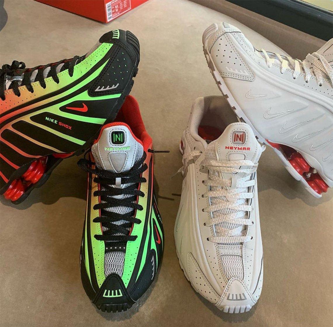 Neymar x Nike Shox R4