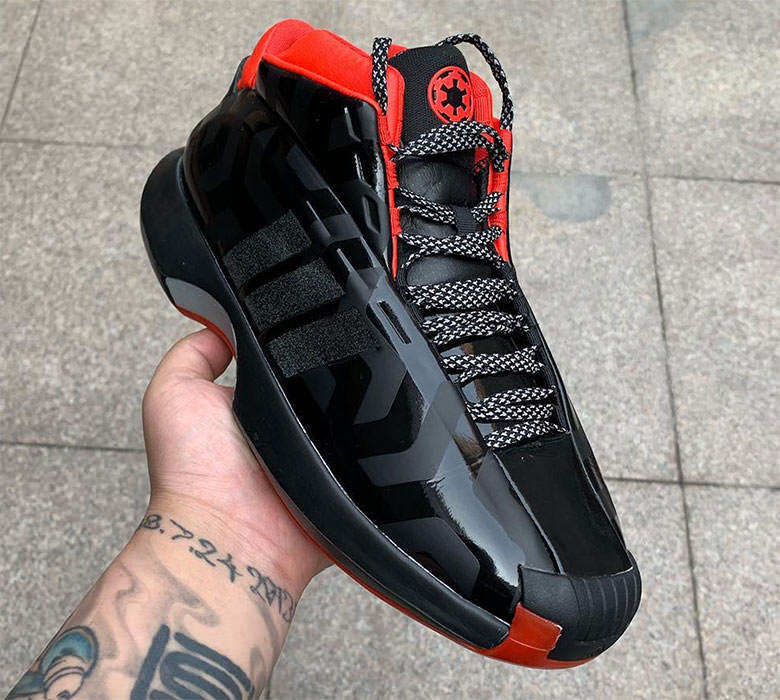 d541ca0d51ac A First Look at the Star Wars x adidas Crazy 1