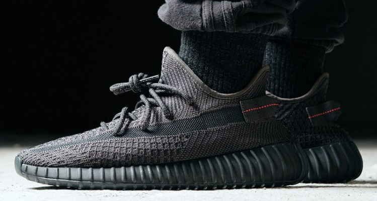Image result for yeezy boost 350 triple black