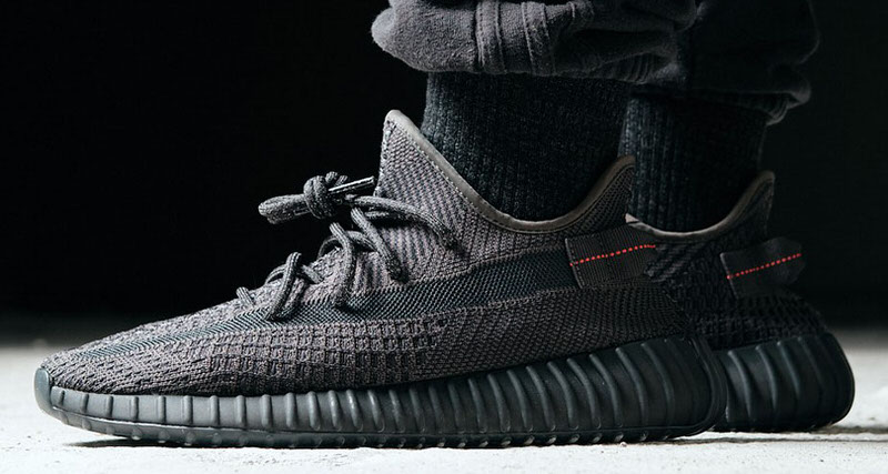 "f95fd90a What's Happening Right Now with the adidas Yeezy Boost 350 V2 ""Black Static""  Releases"