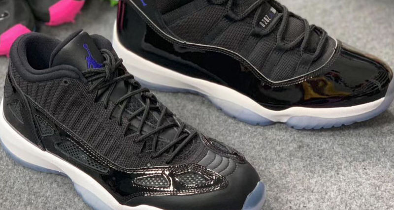 "Air Jordan 11 Low IE ""Space Jam"" Looks More Like the Mid ...