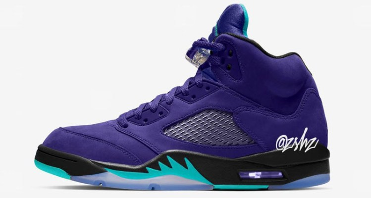 "012a66a0efa What s Next for the ""Grape"" Air Jordan 5s"