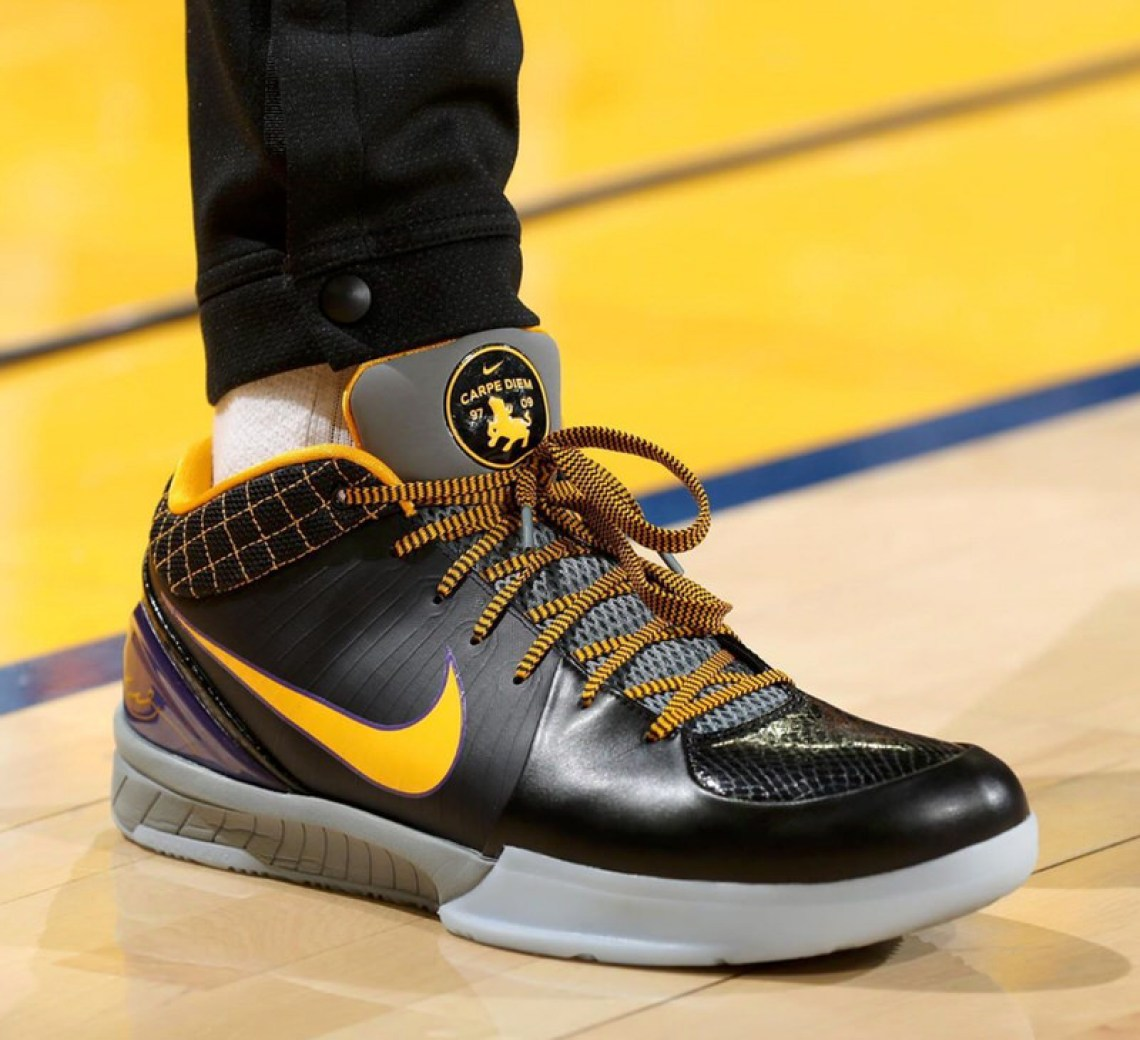 "bbdee89bfba2 ... PJ Tucker in the Nike Zoom Kobe IV Protro ""Carpe Diem"" (via Sole  Collector) ..."