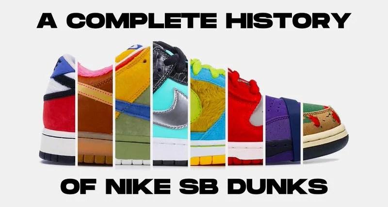 A Complete History Of Nike Sb Dunks Nice Kicks