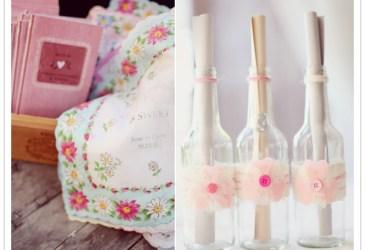 Inspiración: Rosa suave y plata para una boda