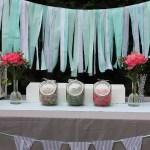 Nice Party: Una comunión en gris y menta