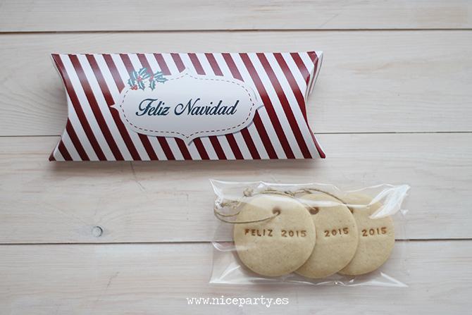 Galletas de navidad regalo de empresa Nice Party