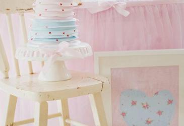 Inspiración: Una Tea Party en tonos pastel por San Valentín