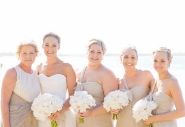 Inspiración: Una bonita mesa para una boda en la playa