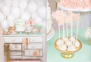Globos, pasteles…y mint