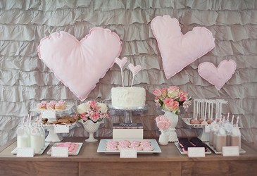 Inspiración: Cumpleaños en gris y rosa