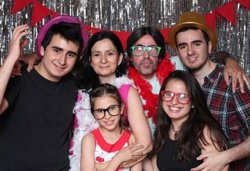 Party photocall en un 50 cumpleaños