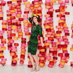 DIY: Photocall de círculos de papel