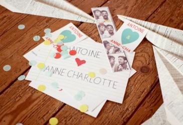Inspiración bodas: Anne-Charlotte & Antoine