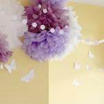 Cosas Bonitas: Nuestras mariposas de papel
