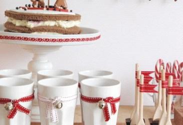 Inspiración: Mesas de dulces muy navideñas