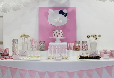 Nice Party: La mesa de dulces de Hello Kitty